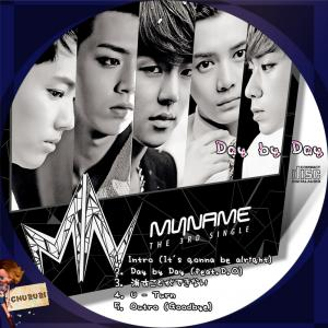 Myname 3rdシングル - Day by Day