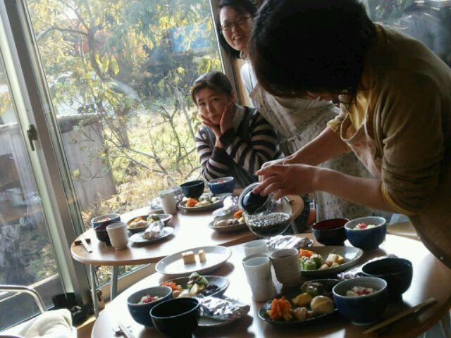 自家焙煎の野草茶