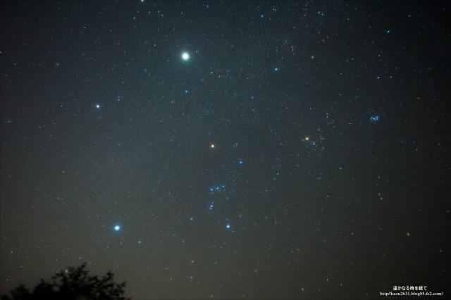 5854木星とオリオン