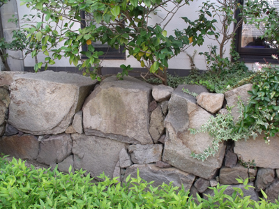 鞆城三の丸石垣