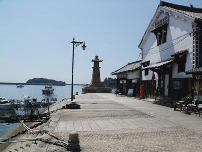 鞆の浦・鞆港の常夜灯