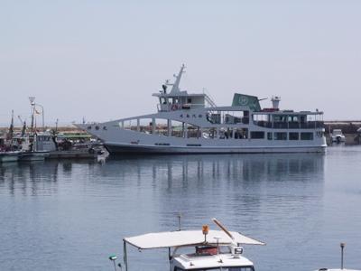鞆港の様子