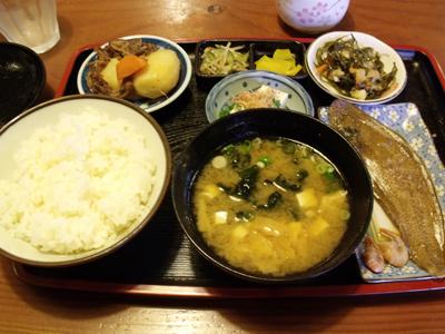 「おてび」の日替わり定食