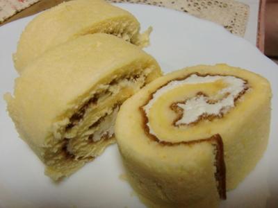 豆腐ロールケーキ