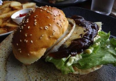 ととらべべハンバーガー8