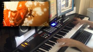 【進撃の巨人】 紅蓮の弓矢 【ピアノ×フルオーケストラ】