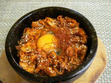 石鍋豚キムチ①