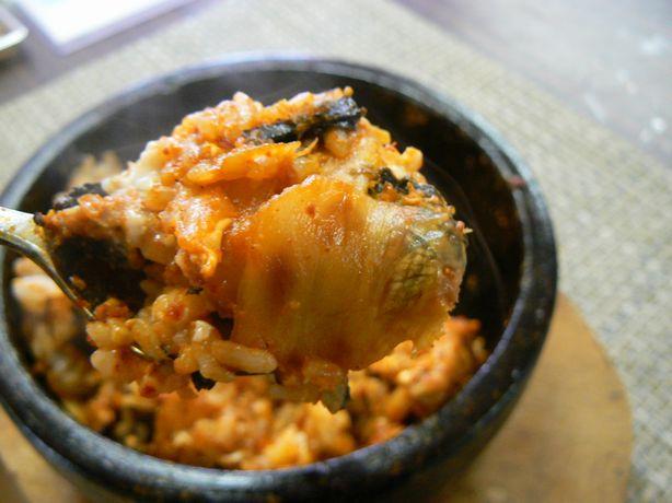 石鍋豚キムチ②