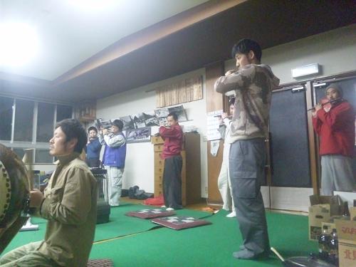 子雀獅子稽古2013.4.25 (2)