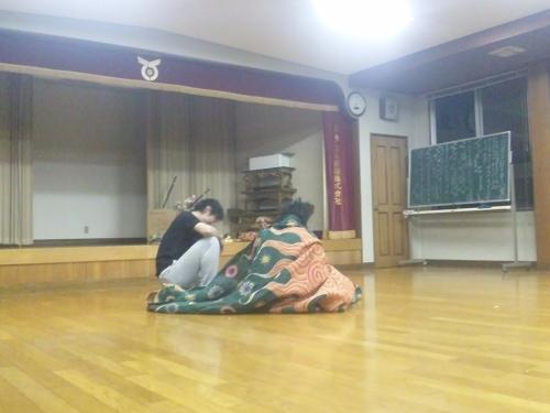 子雀獅子稽古2013.4.25 (8)