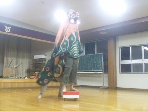 子雀獅子稽古2013.4.25 (6)