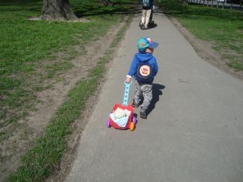 イエローと散歩−3