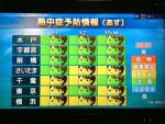 NHK熱中症予報20130908