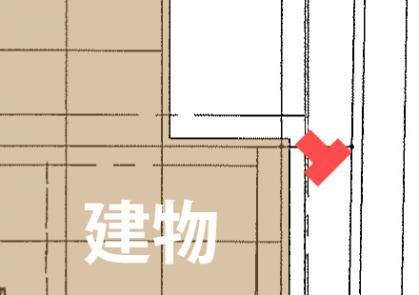 門柱の場所2