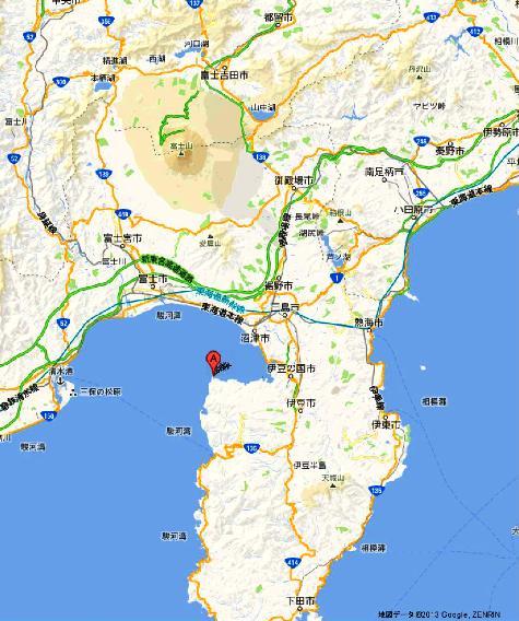 静岡県沼津市西浦江梨 大瀬崎 - Google マップ0001-2