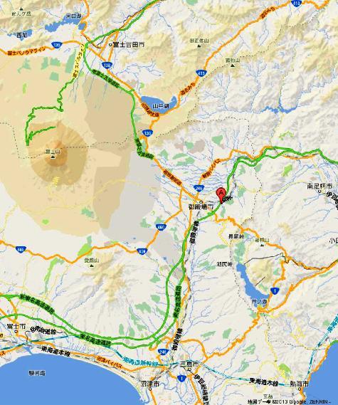 静岡県御殿場市深沢1312 御殿場プレミアム・アウトレット - Google マップ0001