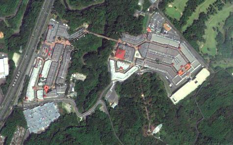 静岡県御殿場市深沢1312 御殿場プレミアム・アウトレット-3 - Google マップ0001