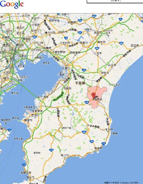 千葉県茂原市 - Google マップ(1)0001