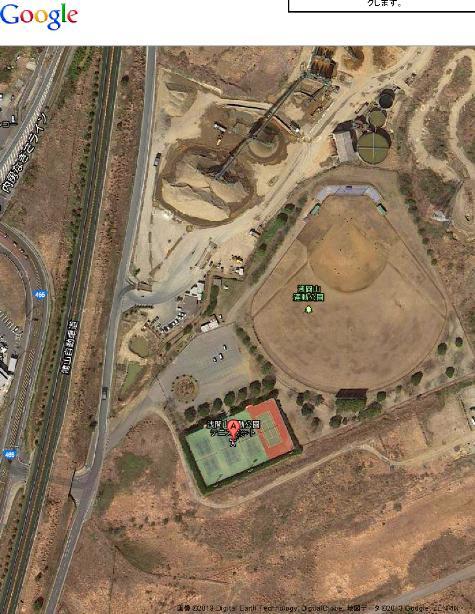 千葉県富津市湊1247 浅間山運動公園テニスコート - Google マップ20001