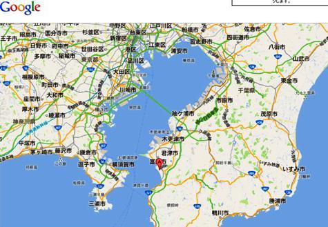 東京湾観音 - Google マップ-50001
