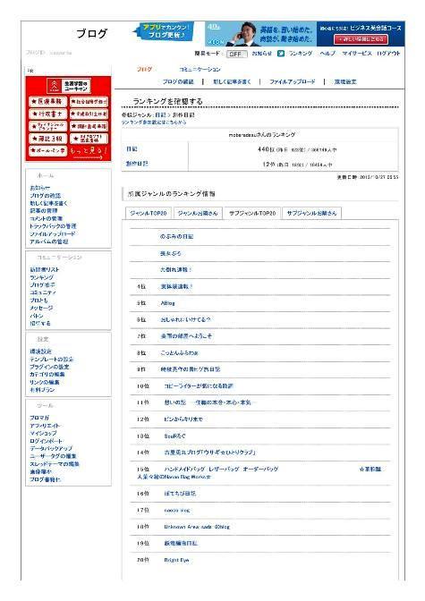 ピンからキリまで - FC2 BLOG 管理ページ201310270001-2