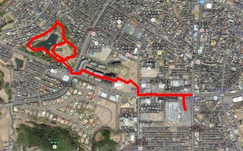 創造の杜散歩コース