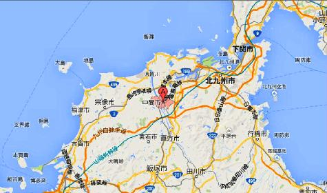 福岡県中間市 - Google マップ0001-2