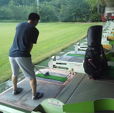 20130812ゴルフ練習