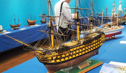 第32回木製帆船模型作品集展-2