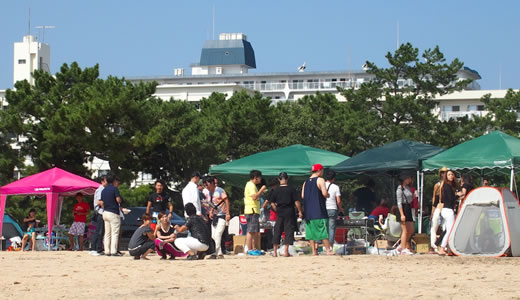 海辺のひろっぱフェスタ@御前浜(3)-1