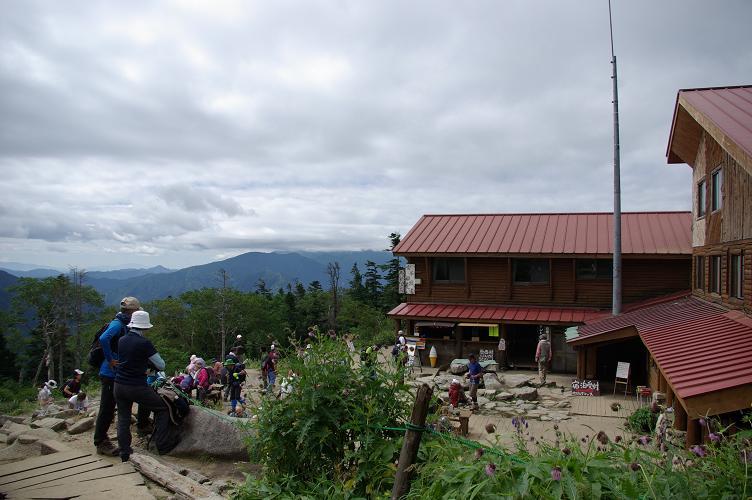 03西穂山荘