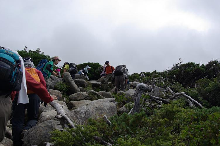 05ツアー登山者一行