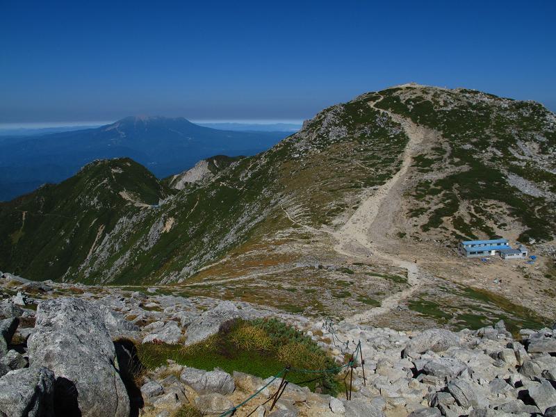016中岳から木曽駒ガ岳と御嶽山