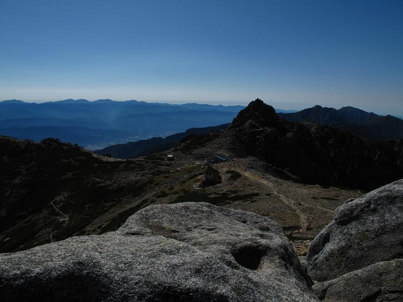 017中岳から宝剣岳