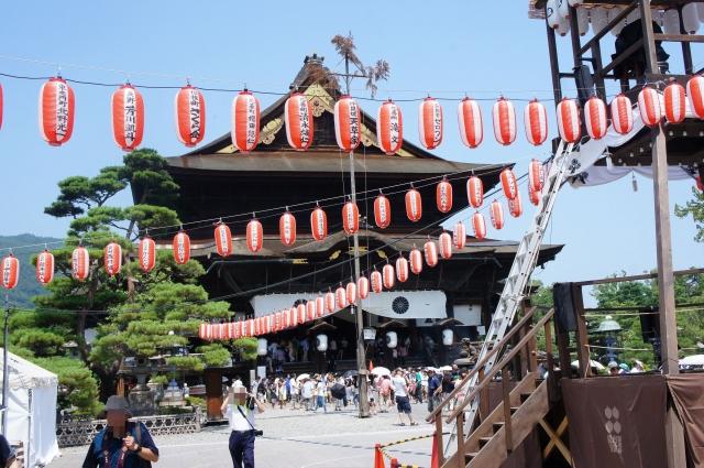 夏の善光寺
