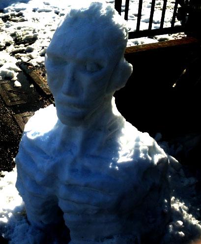 雪だるまゾンビ001