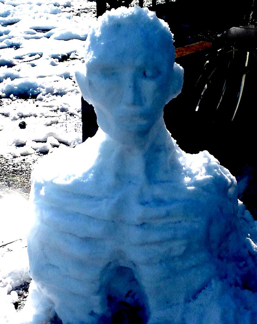 雪だるまゾンビ002