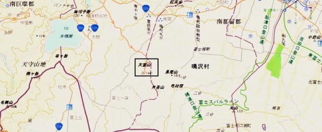 大室(地図