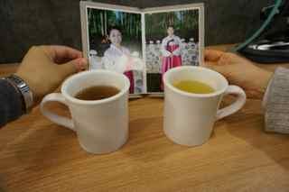 お茶とアルバム