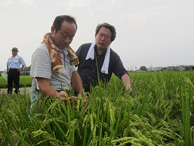 長井会長と原社長