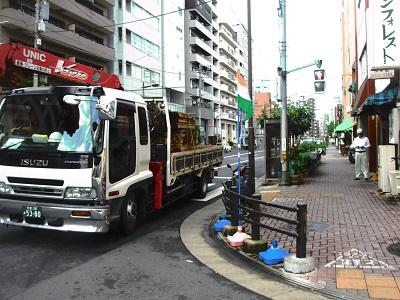 三井不動産レジデンシャルの工事車両9月25日2014