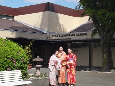 横田基地 日本祭り お琴体験