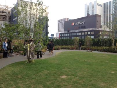 新歌舞伎座屋上庭園