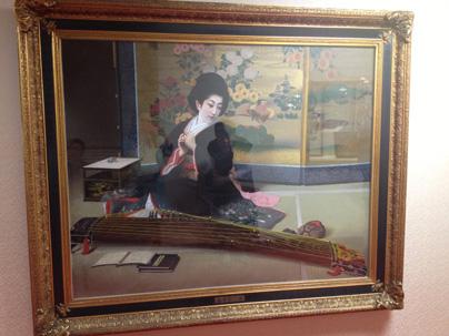 新歌舞伎座 お琴の絵