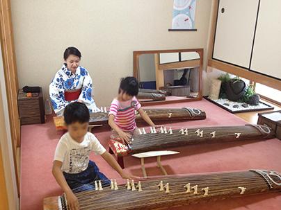 親子でお琴体験教室