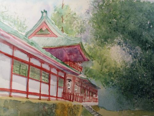 奈良手向山 八幡宮