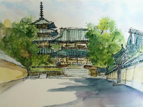 斑鳩 法隆寺