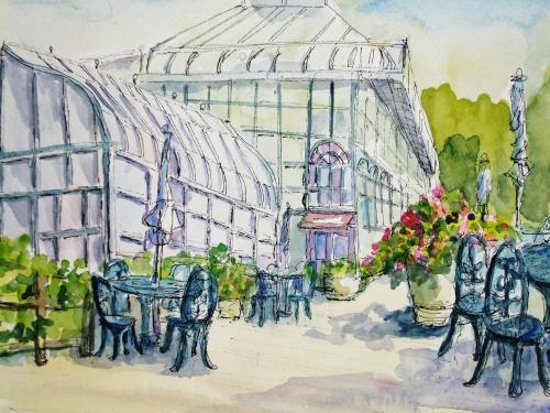 ガーデンズ 温室