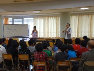 コンサート中盤、わきあいあいと。黒崎南小学校