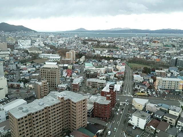 函館景色五稜郭より